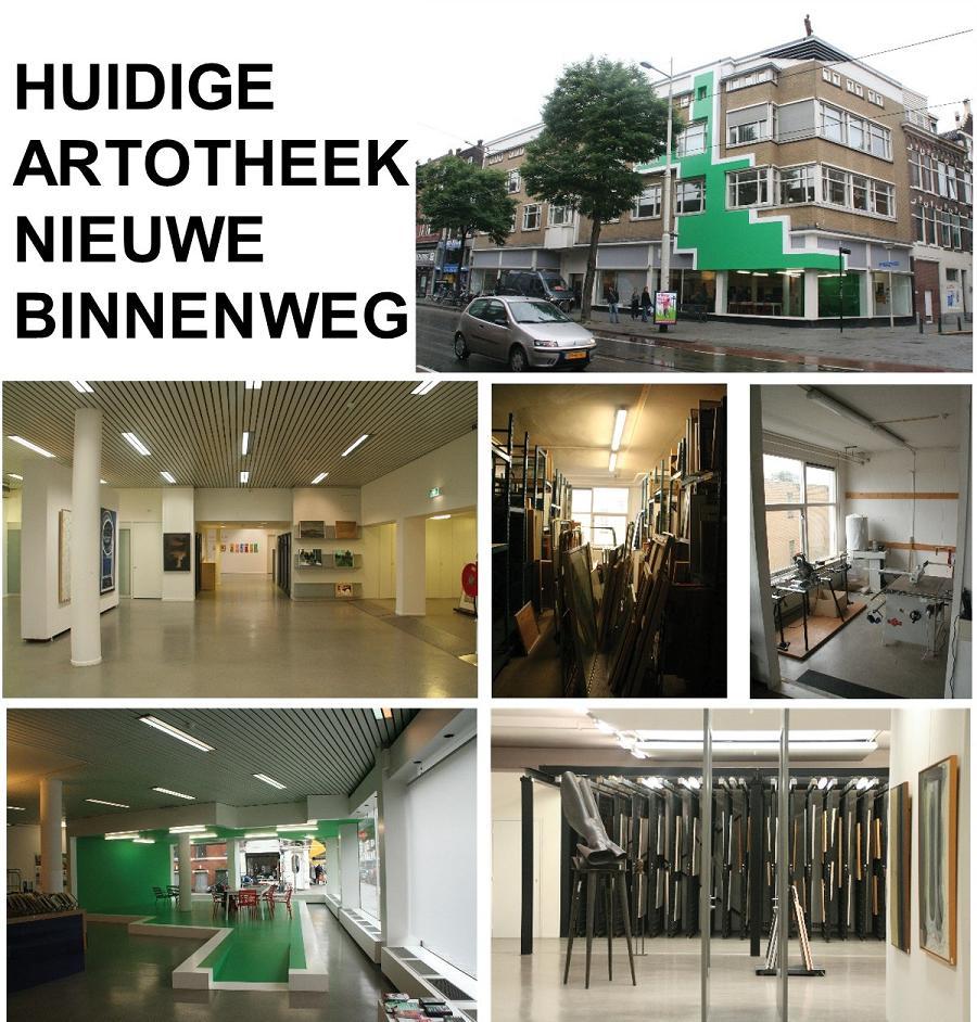 """Artotheek te Rotterdam """"Achter het doek"""""""